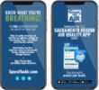 Sacramento Region Air Quality app